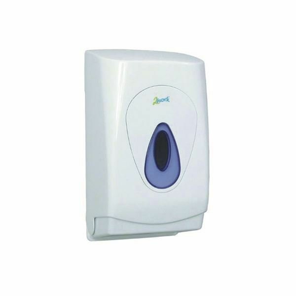 2 Lavoro Bianco Bulk Pack Carta Igienica Dispenser Mon119 [cpd97304]