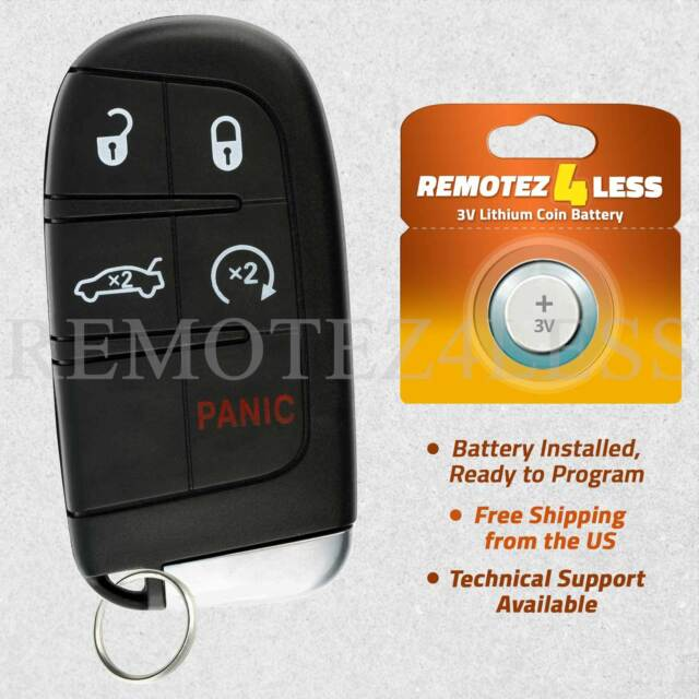 for 2011 2012 2013 2014 2015 2016 2017 2018 Dodge Journey Car Remote Key Fob