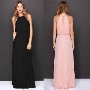 Formal-Long-Women-Chiffon-Dress-Prom-Evening-Party-Cocktail-Bridesmaid-Wedding