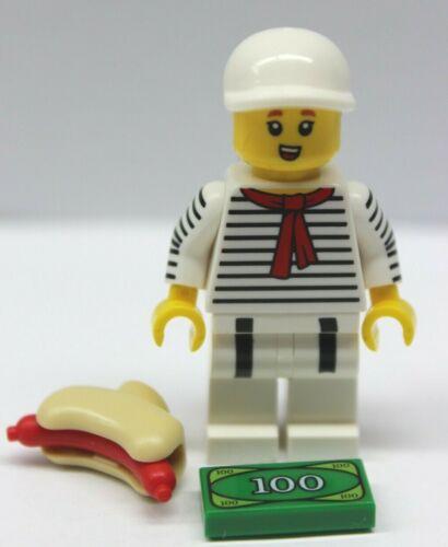 Zubehör unbespielt new Minifig Lego® Figur Hot-Dog Verkäufer