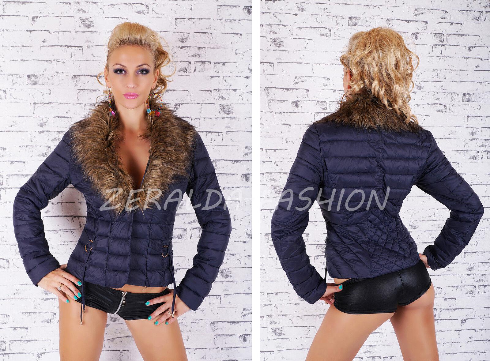 Sexy women Chaqueta Chaqueta Chaqueta Acolchada Ligero de Entretiempo Vellón S M L XL 10642b