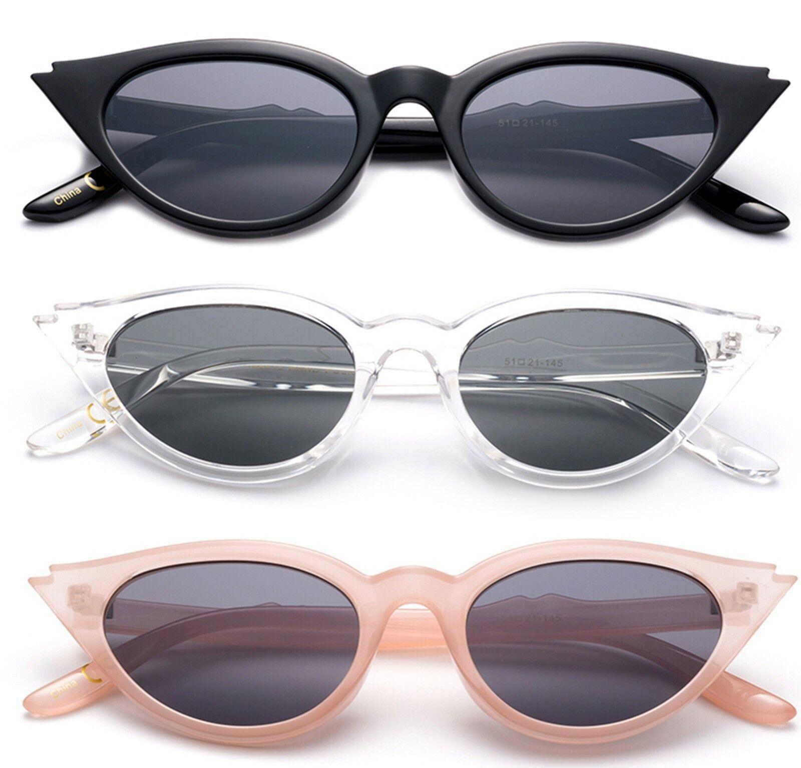 3 Pack Plastic Frame Butterfly Cat eye Fashion Sunglasses for Women UV400