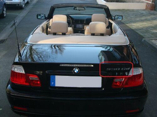 BMW NUOVO ORIGINALE E46 Cabrio Coupè 3 SERIE 330 CD ETICHETTA ADESIVO Badge Emblema