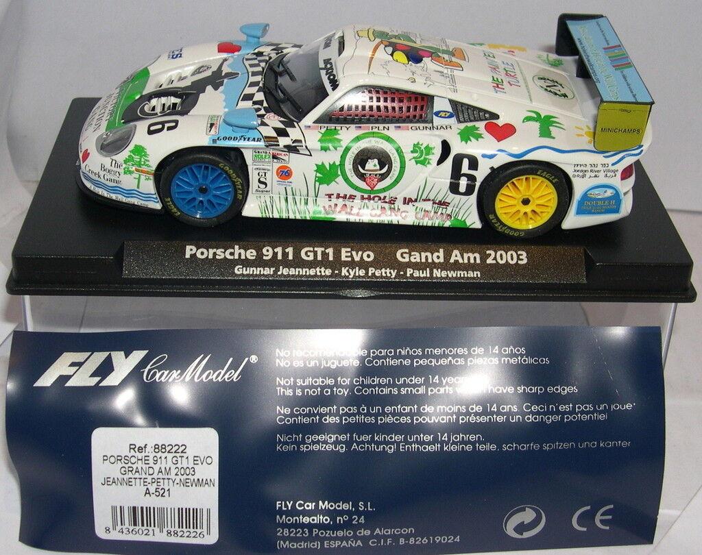 FLY 88222 A-521 PORSCHE 911 GT1 EVO GRAND AM '03 JEANNETTE-PETTY-NEWMAN MB