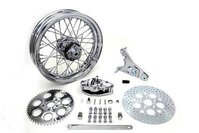 "16/"" Front /& Rear Mag Aluminum Wheel Rim Set Harley-Davidson FL 1973-84 3.00 NEW"