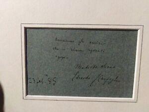 Matilde-Serao-Edoardo-Scarfoglio-partecipazione-nuziale-autografata-da-entrambi