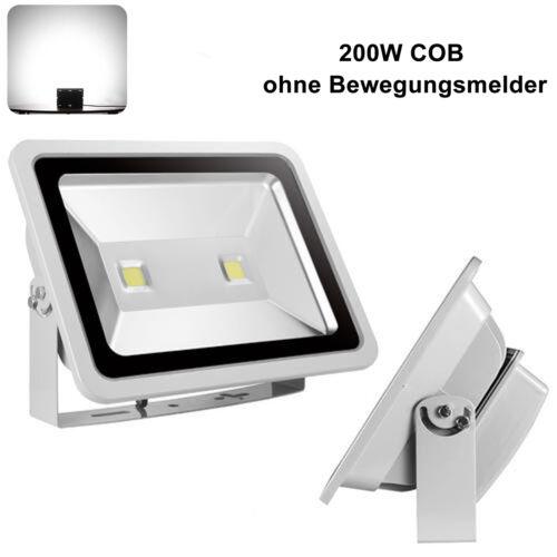 LED Fluter mit Bewegungsmelder 10W 30W 20W 50W 100W 200W Außenstrahler Flutlicht