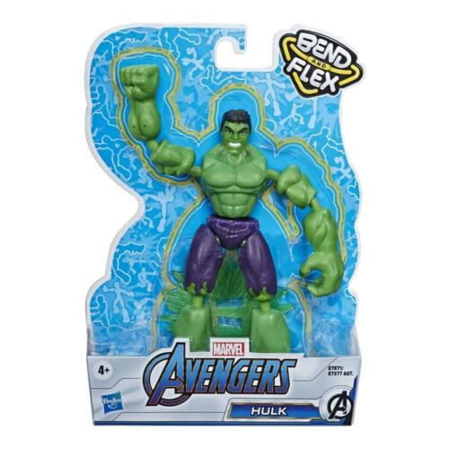 Marvel Avengers Bend and Flex 6-Inch Flexible Hulk Action Figure