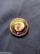 St Maarten Netherlands Antilles 5 Guilder Coin - Abdication 2013 UNC - Rare!