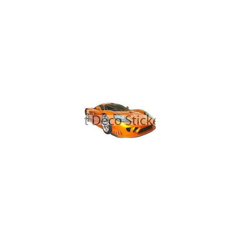 Aufkleber Auto Fahrzeug Sport 130x65cm Ref orange 72ac90c6d677