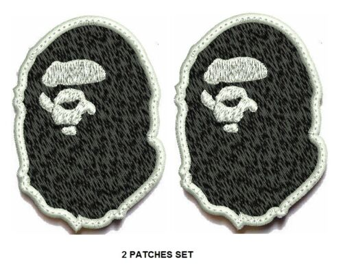 **LOVE IT OR ITS FREE** Bape Ape Never kill Iron-on//sew on Patch