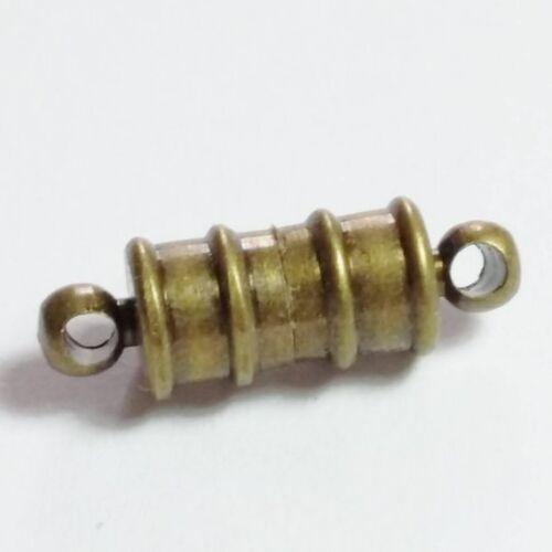 1pc Antique Bronze Fermoirs Magnétiques 17.5x5.5mm Apprêts Bijoux B14933