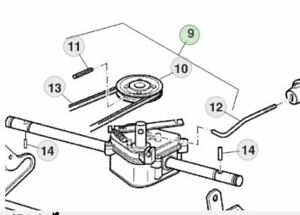 Details about Genuine John Deere RUN41 Walk Behind Mower SA295119  on john deere lawn mower engine diagram, john deere riding lawn mower diagram, john deere push mower diagram,