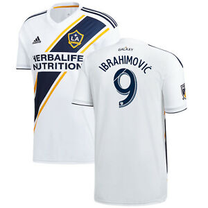 adidas LA Galaxy MLS 2018 Ibrahimovic   9 Home Soccer Jersey New ... 46cee6103