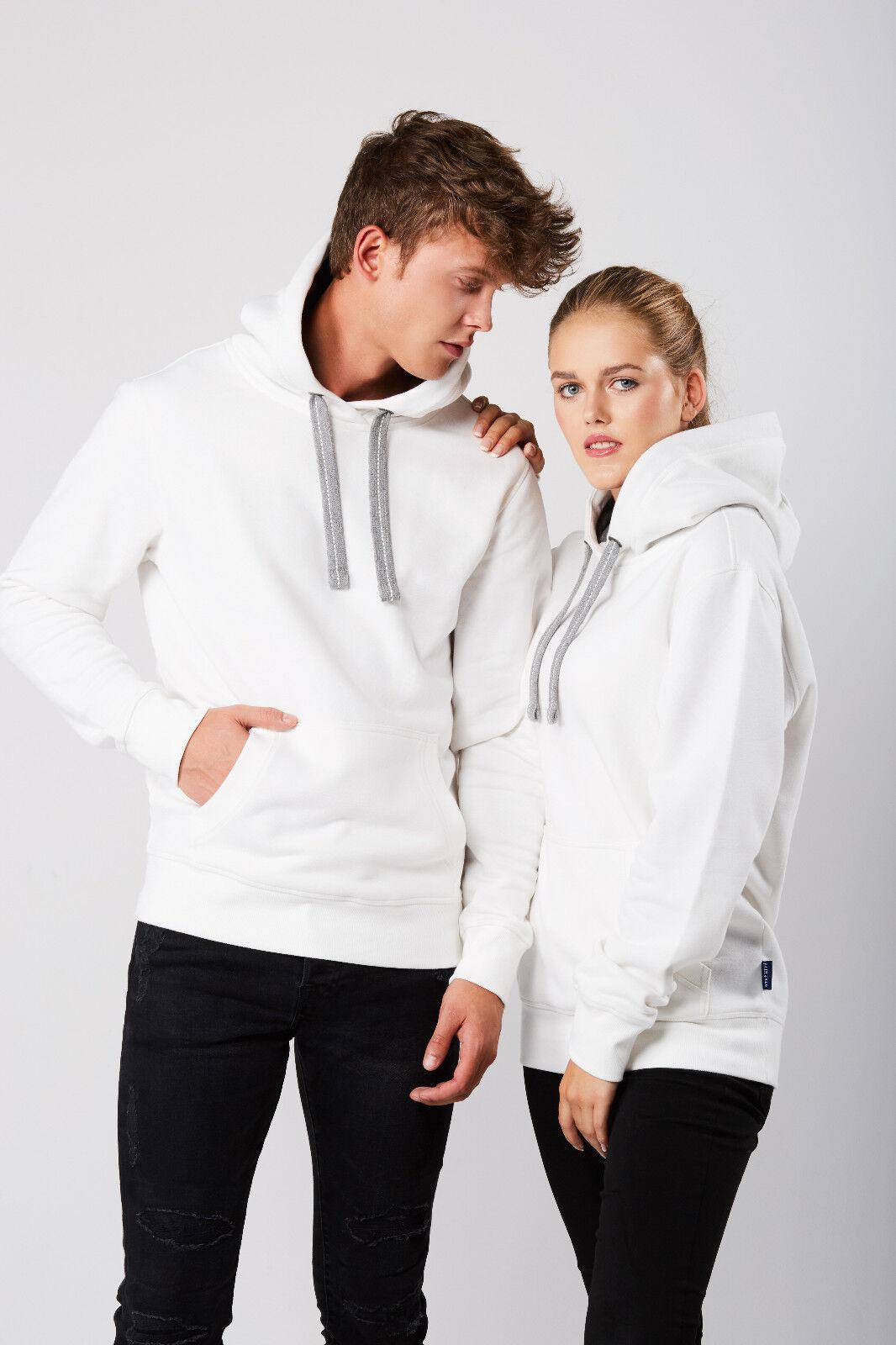Sweat Hoodie Unisex Kapuze Pullover Sweats Pullover Gr. XS bis 5XL in 8 Farben