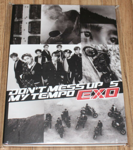 Exo Don't Mess Up My Tempo Smtown Giftshop Official Goods Postcard Book Sealed by Ebay Seller