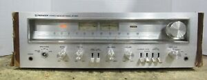 Vintage-Pioneer-sx-650-AM-FM-Stereo-Receiver-35w-pro-Kanal-Power-getestet