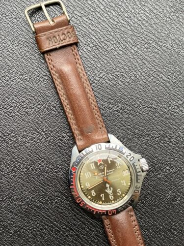 Montre Vintage Vostok Komandirskie Cccp Mecanique Stock Ancien