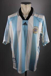 ADIDAS HERREN AFA Argentina Argentinien Fußball Trikot gr.L