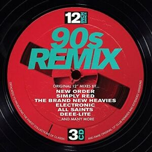 Various-Artists-12-Inch-Dance-90s-Remix-Various-New-CD-UK-Import
