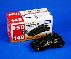 Car-Model-Takara-Tomy-Dream-Tomica-148-Batman-Batmobile-Diecast-DC-Universe-A585