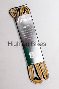 Vittoria-Rally-Road-Bike-TUBULAR-Tyre-700-x-23-Amber-Wall