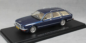 NEO-Models-JAGUAR-XJ40-Estate-Shooting-Brake-in-blu-metallizzato-1989-1-43-NUOVO