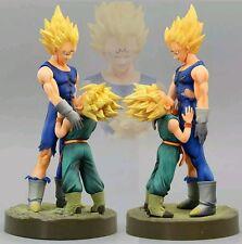 21 cm Anime Dragon Ball Z Figurine Set Showcase Spectacular Vegeta Trunks DBZ Mo