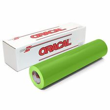 ORACAL 651 Outdoor Permanent Vinyl - LIME TREE GREEN 12in x 10ft Roll