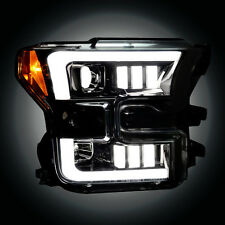 RECON FORD F150 15-17 SMOKED PROJECTOR HEADLIGHTS PART# 264290BKC