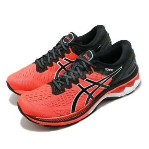 Asics Gel-Kayano 27 Tokyo Sunrise Red Black White Men Running Shoes 1011B077-600