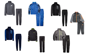 NEW-Nike-Boy-039-s-Assorted-Zip-Up-Track-Jacket-amp-Jogger-Pants-Set-Sizes-XS-S-M-L