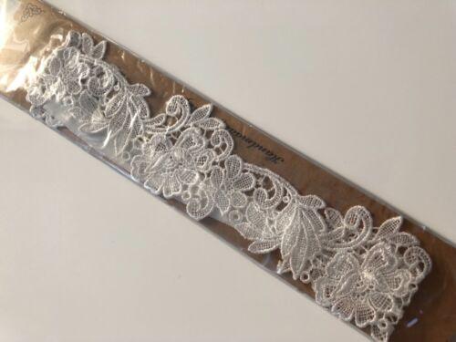 Women Black White Hens night Party Bride Wedding Trim Lace Garter Suspender Belt