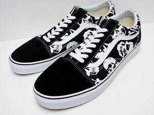 VANS Old Skool (Skulls) Black/ White VN