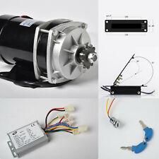 800w 36 V Dc Gear Reduction Electric Motorrev Controllerfoot Throttlekeylock