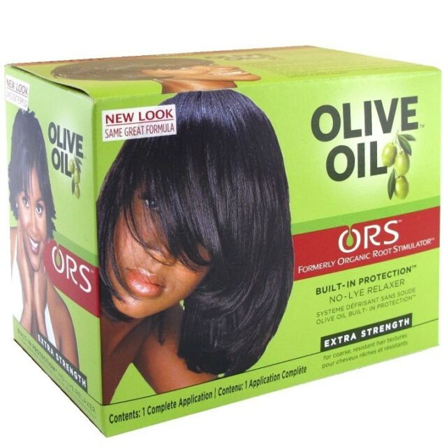 Organic Roots Olive Oil Hair Relaxer Non Lye - EXTRA STRENGTH RELAXER