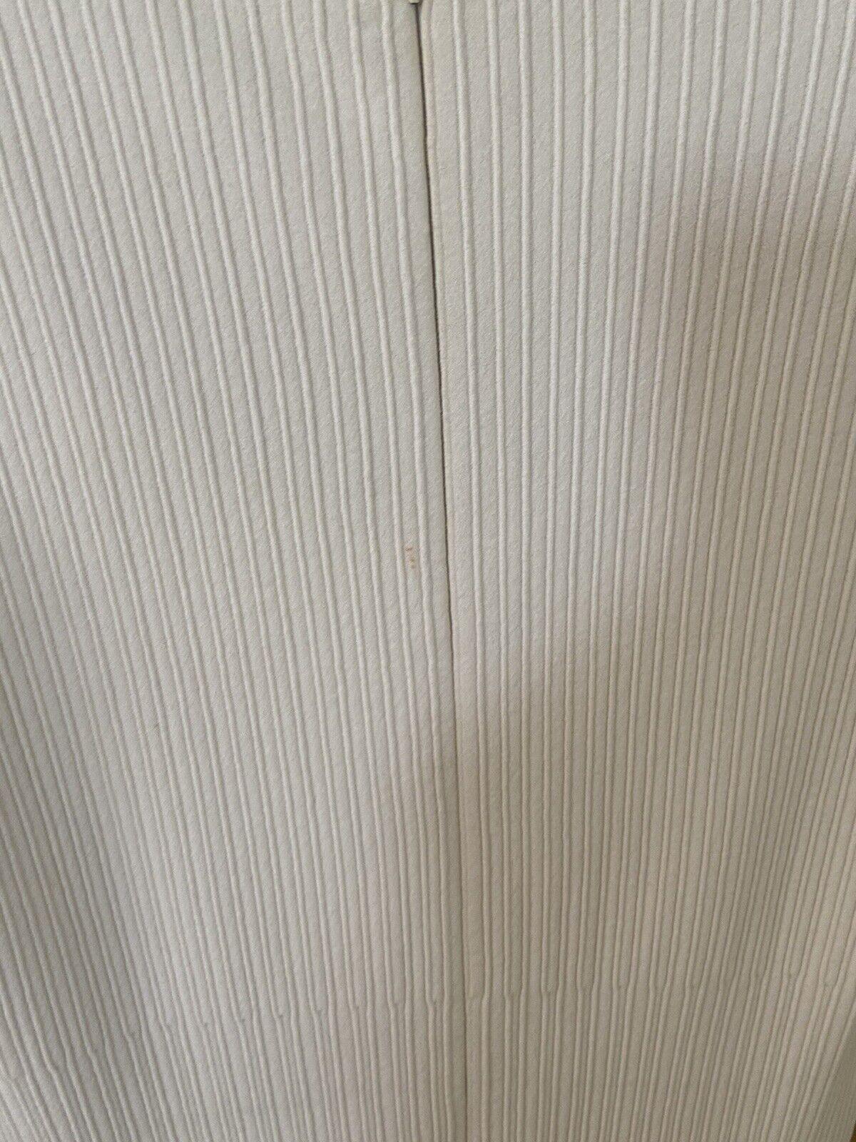 Azzedine Alaia White Long Sleeve Top Blouse Dress… - image 3