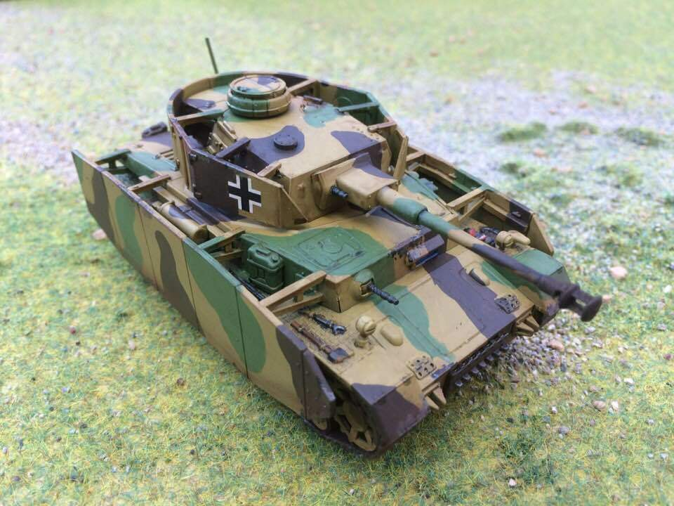 Warlord, Bolt Action German Panzer 4, Pro painted to order