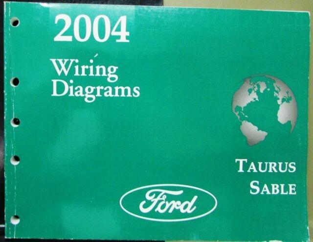 2004 Ford Mercury Dealer Electrical Wiring Diagram Manual