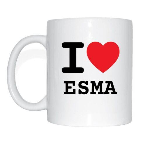 I love ESMA Tasse Kaffeetasse
