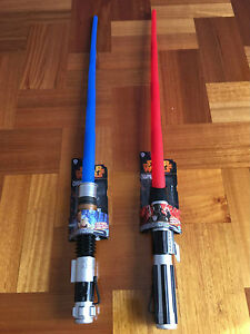 1pc Hasbro Star Wars Extendable Lightsaber Darth Vader Obi