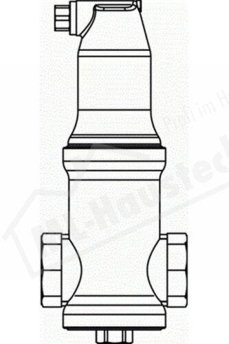 7891132 Pneumatex Zeparo Luftabscheider ZUV 32 Einbau waagerecht IG o Klemmring