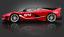 Bburago-1-18-Signature-Series-Ferrari-FXX-K-fxxk-Evolution-Diecast-Modele-Voiture-De-Course miniature 2