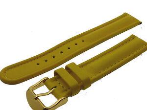 # L040 # Uhrenarmband Armband Leder Bracelet Leather Juwelier QualitÄt 18 Mm