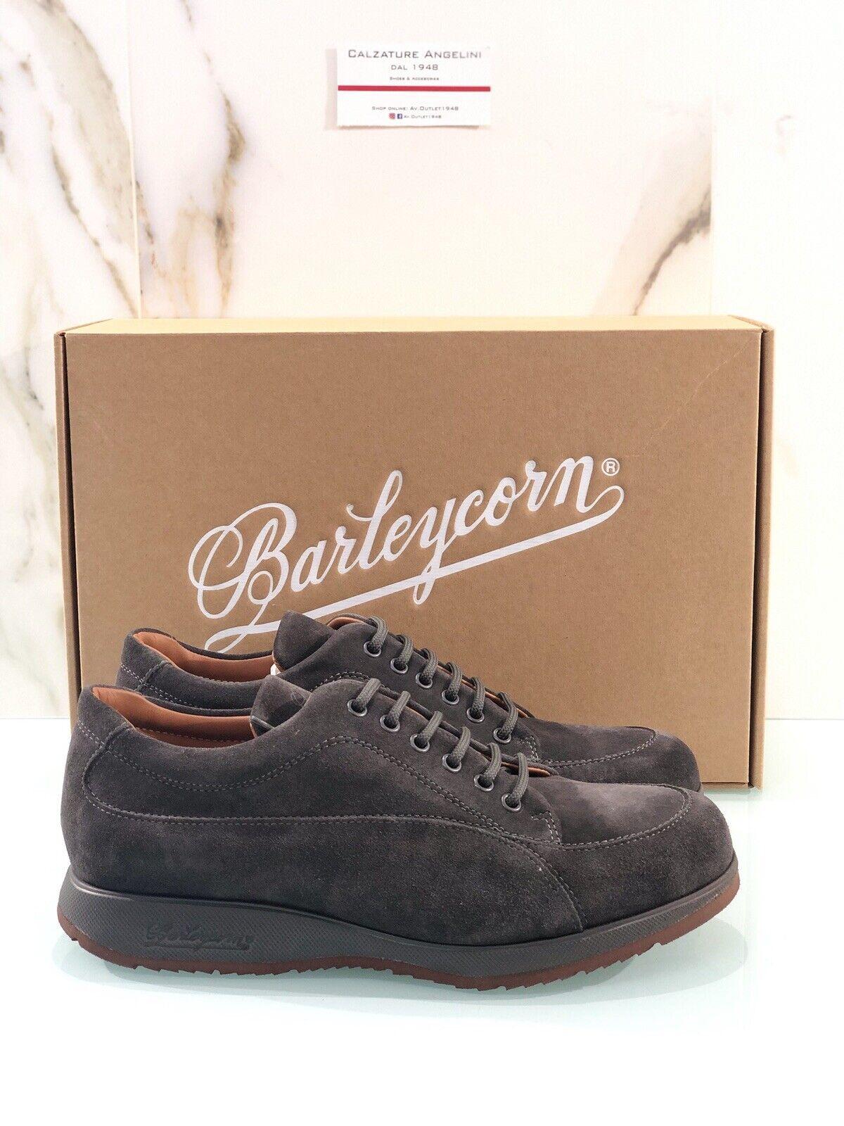 Barleycorn New Classic Herren Turnschuhe aus Wildleder Grau 41 Made in