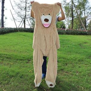 80cm-340cm giant bear skin toy American Bear plush Teddy Bear bearskin gift