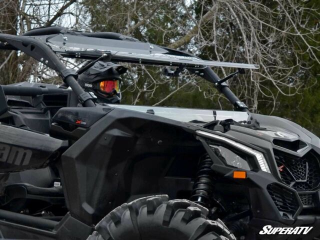 Tusk Removable Half Windshield Scratch Resistant Can-Am Maverick X3 Max Turbo R