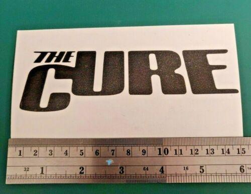 THE CURE Band Logo-Voiture//Van//Camper//Vélo//Ordinateur Portable Decal Autocollant