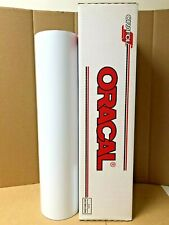 Oracal 651 1 Roll 24 X 50yd 150ft White 010m Matte Sign Vinyl