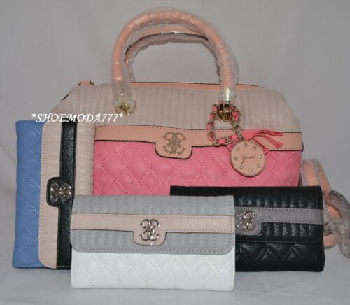 Portefeuille Lot Sac Cuir A Merci Matelassé Bag Charme Guess Main Synthetique LGUMSzqVp